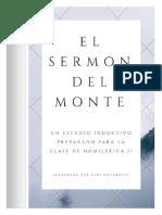 El sermón del monte - Método Inductivo