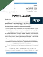 Peatonalizacion