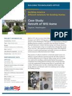 Case Study Retrofit 1915home