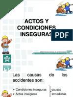 Actos y Condiciones Inseguras (B)