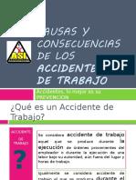 Causas y Consecuencias de Los Accidentes Laborales