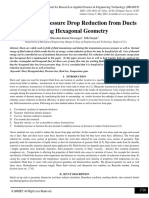 Analysis for Pressure Drop Reduction from Ducts using Hexagonal Geometry