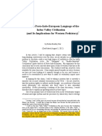 PIE and Its Implications for Western Civilization (Robin Bradley Kar, 2012 Draft)