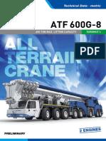 TADANO ATF600G-8 EM4 1 Specifications 052018