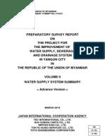 Yangon City Water Supply System Summary (Volume II)