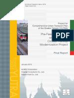 YUTRA Pre-Feasibility Study on Yangon Circular Railway Modernization Project
