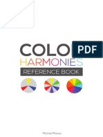 Color Harmonies - Reference Book by Michal Macko