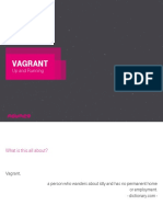Presentation 2016 NOUNCE Vagrant Up and Running v2.4