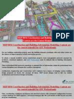 MEP Coordination Shop Drawing Service USA - MEPF, Mechanical, Electrical & Plumbing