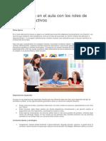Intervención en El Aula Con Los Roles de Niños Hiperactivos