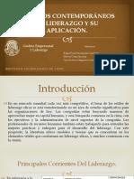 Modelos Contemporáneos de Liderazgo y Su Aplicación