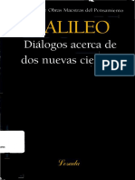 Diálogos Acerca de Dos Nuevas Ciencias [OCR0] - Galileo Galilei
