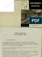 5737proclamation to the Mozambican People