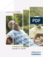 Practising Peace | March Newsletter | Athulya Living