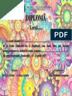 Diploma Sc Altfel 2018
