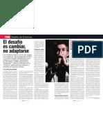 """El Desafio de Cambiar, No Adaptarse """"Italo Pizzolante"""""""