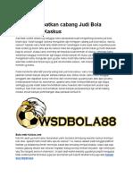Situs Judi Bola Online - Agen Judi Wsdbola88