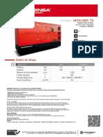 HDW 285 T5 [Insonorizado Standard F1] PT