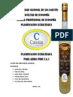 Planificación Estrategica - Ajera Perú s.a.c