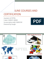 NPTELOnlineCertification - Jan-April 2017_Workshop