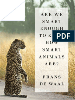 Frans de Waal - Are We Smart Enough to Know How Smart Animals Are