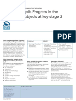 Assessing Pupils Progress in the Foundation Subjects at Key Stage 3