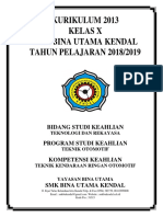 COVER TKR X