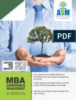 IPS - MBA Agribusiness Management