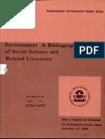 EPA Environment Bibliography