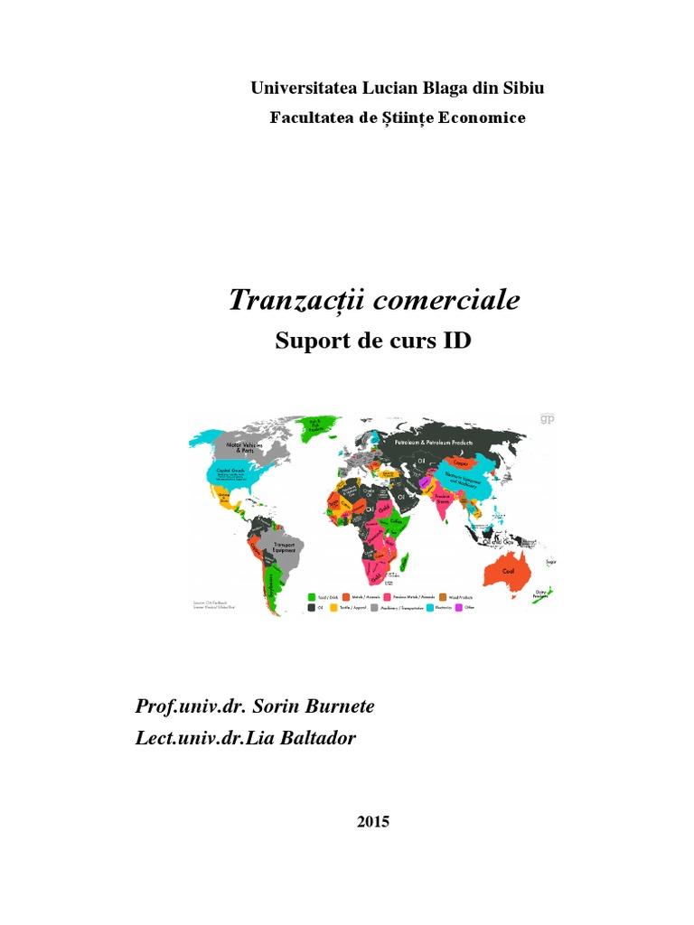 tranzacții comerciale reale