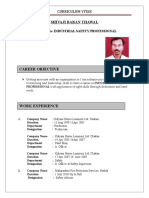 Safety Officer Resume