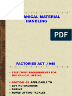 Mechanical Material Handling