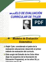 Modelo de Evaluación Curricular de Tyler