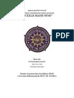 Alat Peraga Math Nine