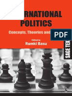 International Politics Concepts Theories and Issues Basu Rumki
