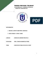 Servicios Publicos en El Peru Caratula