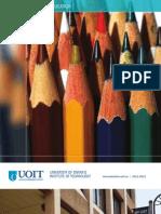 2011-2012 Faculty of Education Viewbook