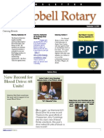 Rotary Newsletter Sep 14 2010