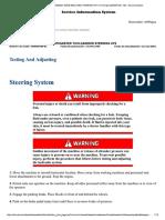 4.-Pruebas y Ajustes Del Sistema de Dirección