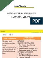 TM5.2 Strategic Management
