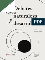 Debates Sobre Naturaleza y Desarrollo