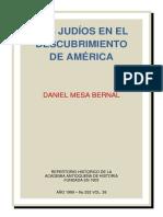 Judíos en El Descubrimiento de América (Daniel Mesa Bernal, 1989)