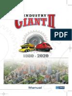 Industry Giant II Manual