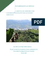 La Interdisciplina en Las Ciencias Ambientales Por Leon Felipe Cubillos