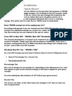 Train Law Primer