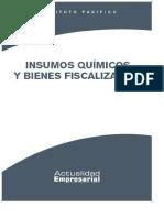 Insumos Químicos y Bienes Fiscalizados - PDF