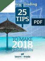 25 Tips Make 2018 Profitable
