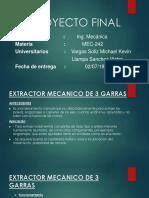 Proyecto Final Extractor