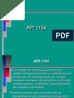 API1104 Piping