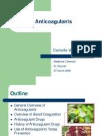 Anticoagulants Daniellewelschmeyer